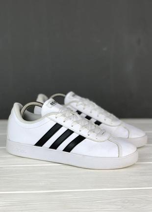Кеды женские adidas vl court 2.0 original 38.5 белые стильные