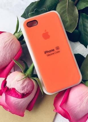 Новый silicone case с логотипом для iphone 5/5s/se