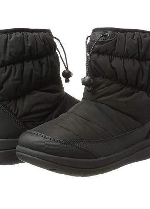 Сапоги clarks cabrini р. 39 женские зимние ботинки дутики