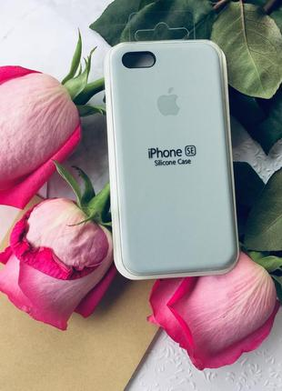 Продам новый silicone case с логотипом для iphone 5/5s/se