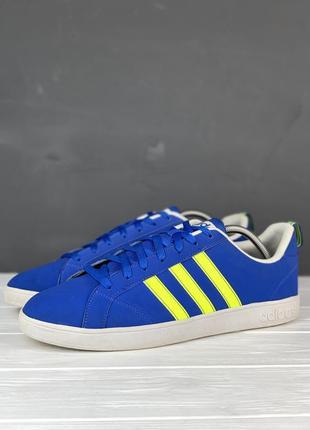 Кеды кроссовки adidas neo advantage original 47 мужские синие