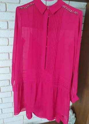 Шифоновое платье pepe jeans