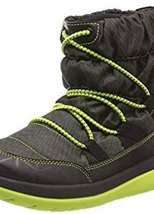 Уценка сапоги clarks cabrini р. 38 женские зимние ботинки дутики