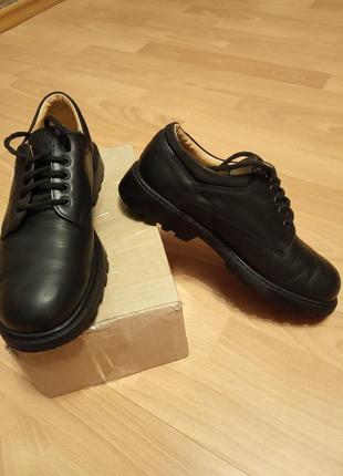 Австрия,шикарнейшие,кожаные полуботинки,ботинки,туфли,броги,лоферы.
