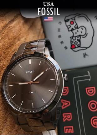 - 40% | мужские часы fossil the minimalist 3h fs5459 (оригинальные, новые с биркой)