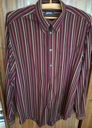 Рубашка lerros в полоску