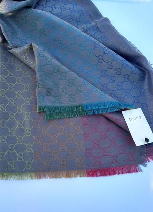 Брендовый палантин, платок,шаль