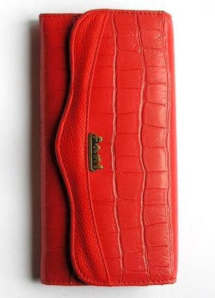 Кожаный кошелек крокодил + картхолдер , 100% натуральная кожа, есть доставка бесплатн