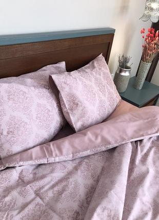 Комплект постельное белья сатин люкс евро размер 100% хлопок