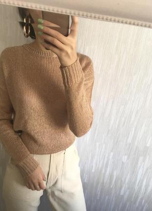 Идеальный бежевый свитер new look