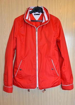 Яркая ветровка oodji, стильная легкая куртка, размер s/м