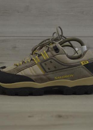 Мужские трекинговые кроссовки фирмы salomon