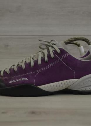 Мужские трекинговые кроссовки фирмы scarpa mojito (salomon,lowa)