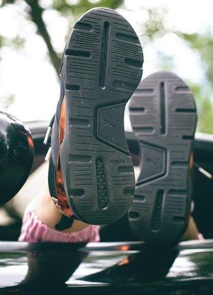Шикарные кроссовки puma muse metal в черном цвете (весна-лето-осень)😍6 фото