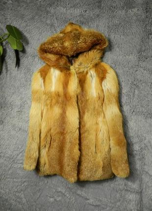 ✅  шубка натуральный мех лиса  на перешив (только перешив )