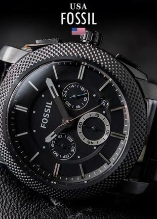 - 44% | мужские часы хронограф fossil machine fs4552 (оригинальные, новые с биркой)