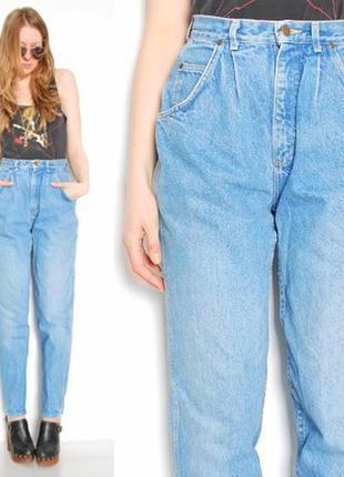 Teddy's французские светлые джинсы мом