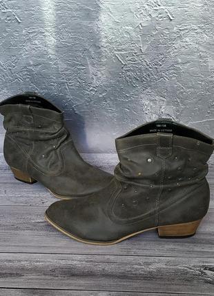 37р new look ботинки ковбойки