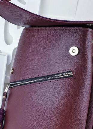 Сумка рюкзак замша еко.кожа есть цвета6 фото