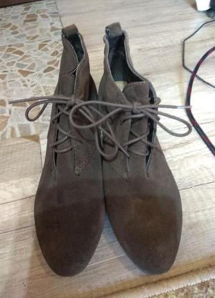 Шкіряні черевики clarks 41-42 розмір