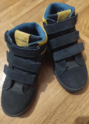 Демисезонные ботинки 33 р. mayoral (испания) замш.
