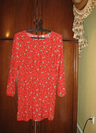 Модное платье henry holland, 100% вискоза-штапель, размер 16/44