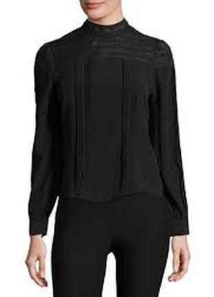 Кофточка блуза декорированная кружевом гипюром h&m