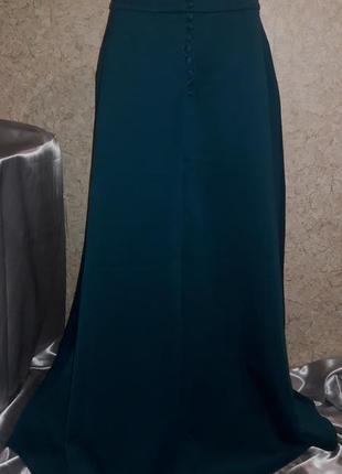 Шикарная юбка в пол из дайвинга. новая, но без этикетки
