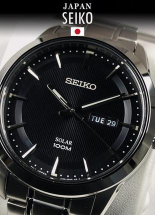 - 54% | мужские часы seiko solar sne363p1s (оригинальные, новые с биркой)