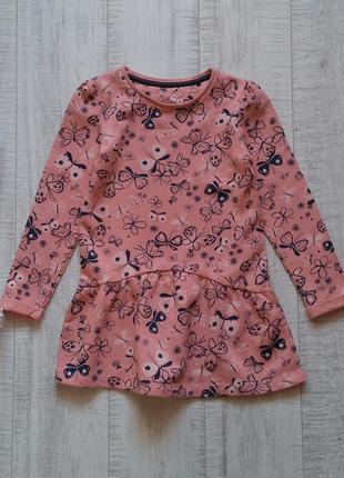Платье в бабочки tu на 4-5 лет