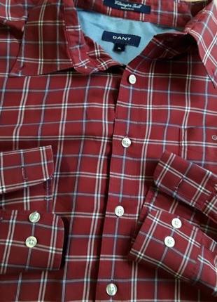 Фірмова рубашка сорочка gant, оригінал, розмір xl-xxl.