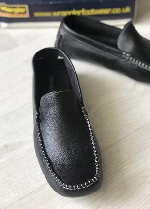 Распродажа кожаные удобные мокасины wrangler