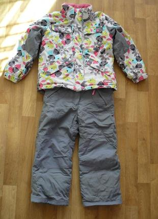 Детский лыжный костюм на девочку deux par deux возраст 6 лет