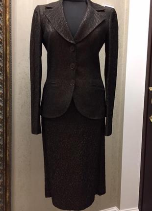 Классический деловой костюм bgn, размер 38.