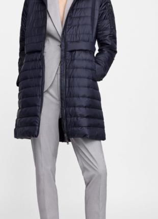 Анорак куртка облегчённая деми сезон пуховая пух/перо zara