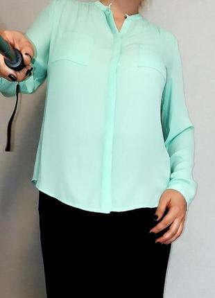 Ода мятному цвету в блузе betty barclay 14-16/50-52