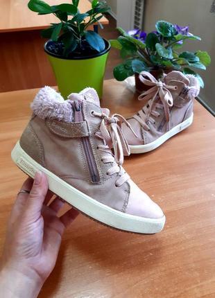 Утеплённые брендовые кроссовки, кеды