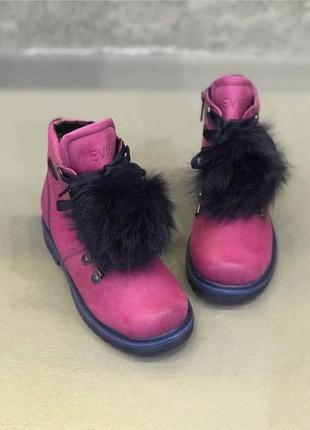 Ботинки для девочки1 фото