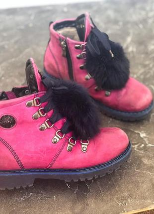 Ботинки для девочки3 фото