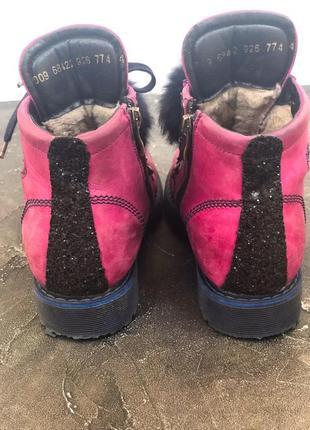Ботинки для девочки4 фото