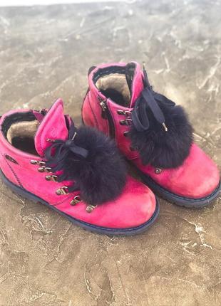 Ботинки для девочки5 фото