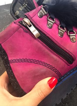Ботинки для девочки6 фото