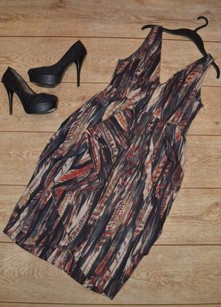 Шикарное платье h&m (m-l)