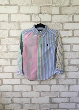 Стильная рубашка ralph lauren для мальчика