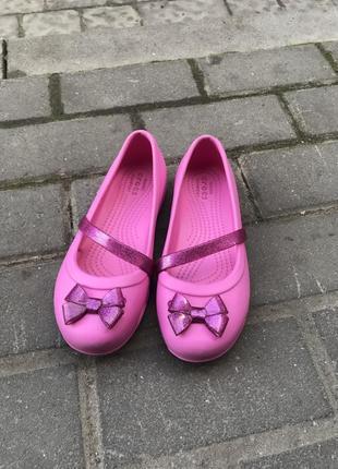 Балетки crocs оригинал j2