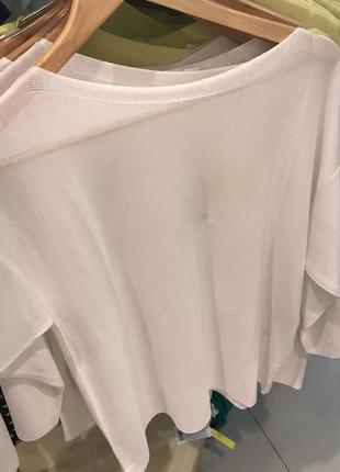 Джемпер белый ostin