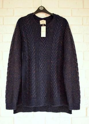 Красивый свитер с узором papaya uk 18 новый