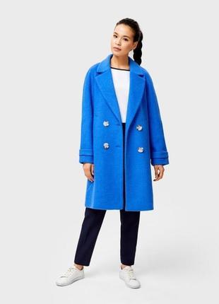 Пальто синее ostin