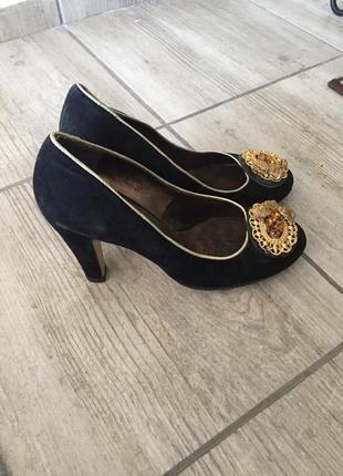 Туфли замшевые egle