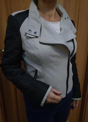 Классная стильная курточка-косуха! р. 14